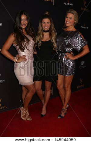 LOS ANGELES - AUG 24: Manuela Arbelaez, Amber Lancaster, Rachel Reynolds at the Daytime TV Celebrates Emmy Season at the Television Academy - Saban Media Center on August 24, 2016, North Hollywood, CA