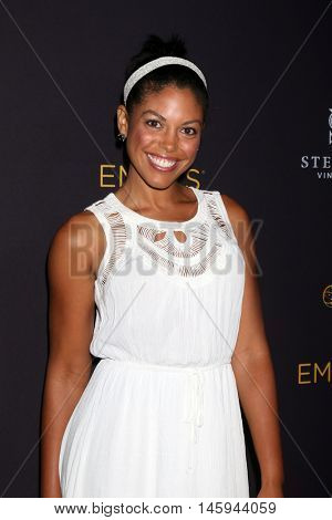 LOS ANGELES - AUG 24:  Karla Mosley at the Daytime TV Celebrates Emmy Season  at the Television Academy - Saban Media Center on August 24, 2016 in North Hollywood, CA