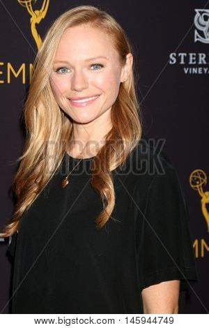 LOS ANGELES - AUG 24:  Marci Miller at the Daytime TV Celebrates Emmy Season  at the Television Academy - Saban Media Center on August 24, 2016 in North Hollywood, CA