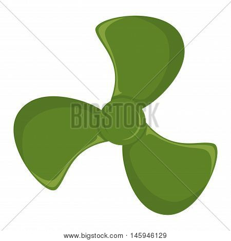 Turbine ship boat icon propeller fan vector