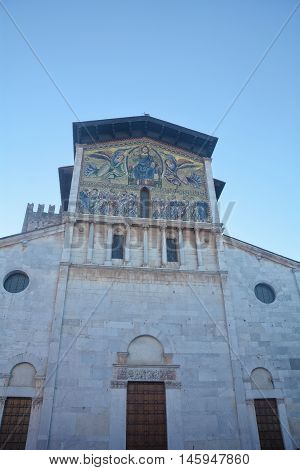 the church of San Frediano in Kucca Italia