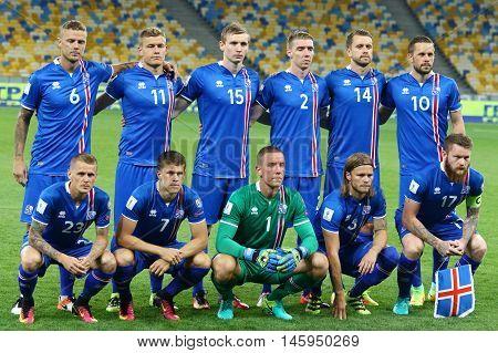 Fifa World Cup 2018 Qualifying Game Ukraine V Iceland