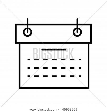 calendar planner schedule date time month day  vector illustration
