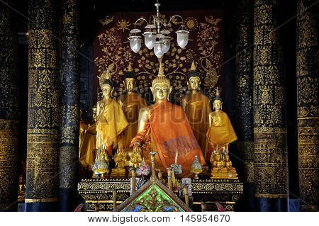 Buddha statue,Buddha is more than one thousand years old