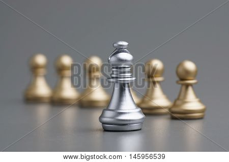 Silver Bishop Chess