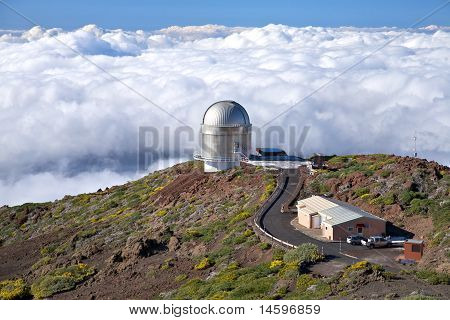 Observatory Over Clouds