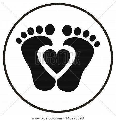 feet babies children kids baby billy icon