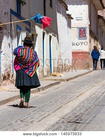 Lone Street In Maras
