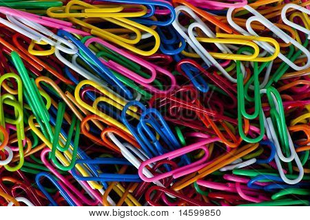 Paper Clip Background
