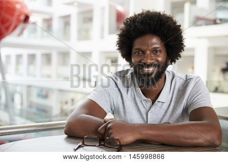 Portrait Of Mature Male University Student On Campus