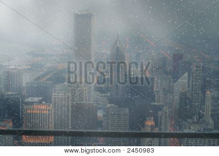 A View On Downtown Chicago