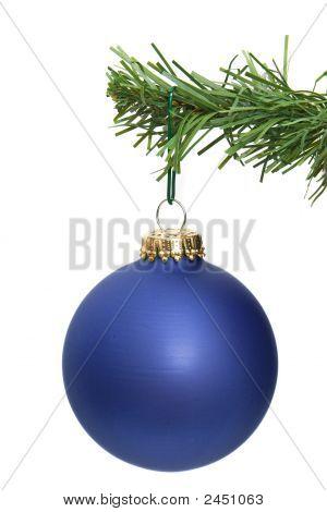Blue Ornament Hanging