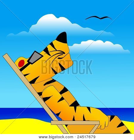 Tiger Under The Sun