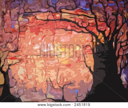 Trees Vector Illustration