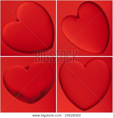 4 Red Hearts