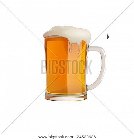 ilustrar la historieta de png de taza de cerveza