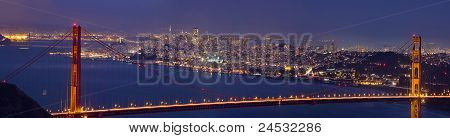 Golden Gate Bridge Over San Francisco Bay