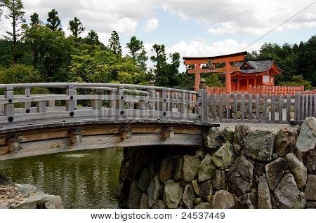Small Shrine On Island