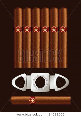 Cigars And Guillotine.