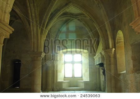 gothic chamber - medieval castle