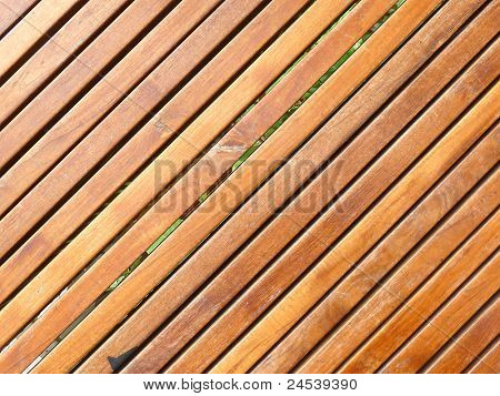 wooden slatted background