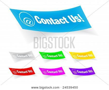 contact us,stickers