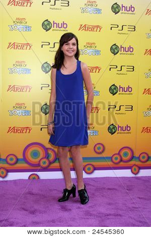 LOS ANGELES - OCT 22:  Bailee Madison arriving at the 2011 Variety Power of Youth Evemt at the Paramount Studios on October 22, 2011 in Los Angeles, CA