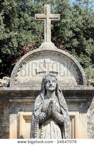 Cemetery In Lourmarin