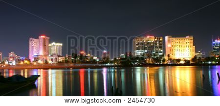 Saigon In Night