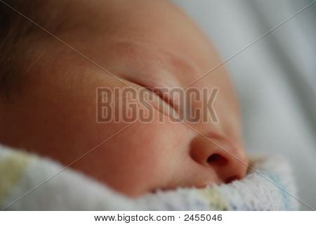 Sleeping Baby Face