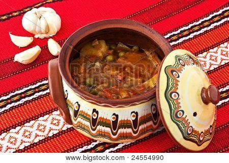 Balkan Vegetable Stew