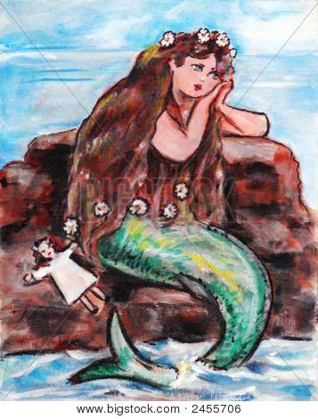 melancholische mermaid