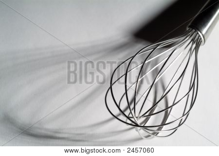 High Contrast Whisk With Shadows