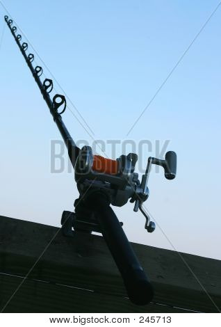 Fishing Pole Abstract
