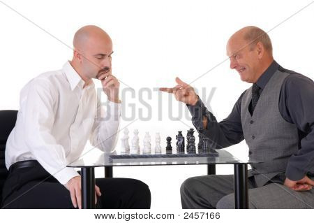 Managers Playing Chess