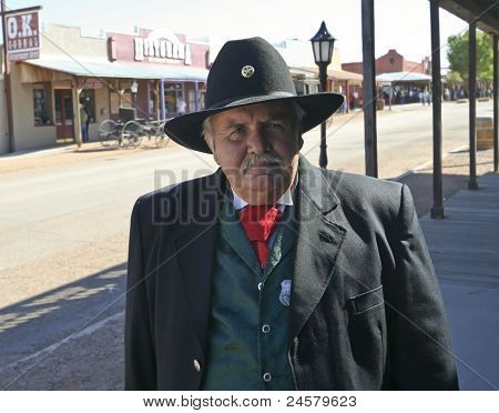 A Participant Of Helldorado, Tombstone, Arizona