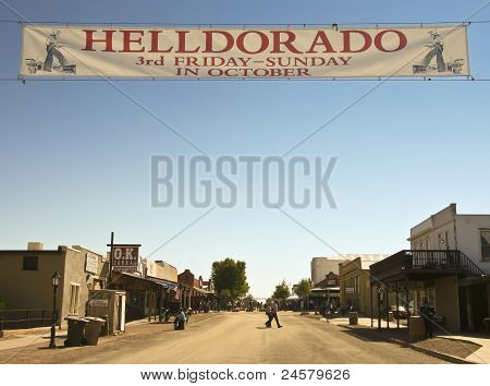 A View Of Helldorado, Tombstone, Arizona