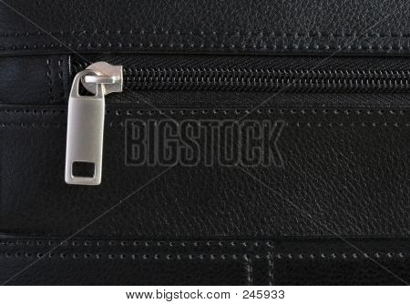 Briefcase Zip Detail