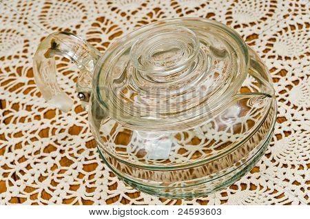 Clear Tea Cup