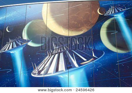 Disneyland Mural