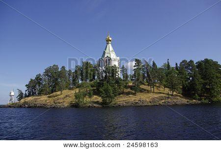 Valaam Monastery In Karelia, Russia