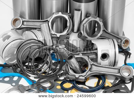 Lots Of Auto Spare Parts