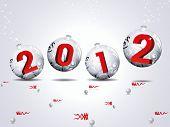 Постер, плакат: вектор 2012 символ дракона тема на новый год