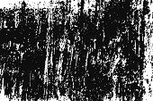 Black Grainy Texture Isolated On White Background. Distress Overlay Textured. Grunge Design Elements poster