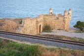 Постер, плакат: Ени Кале древняя крепость в Керчи