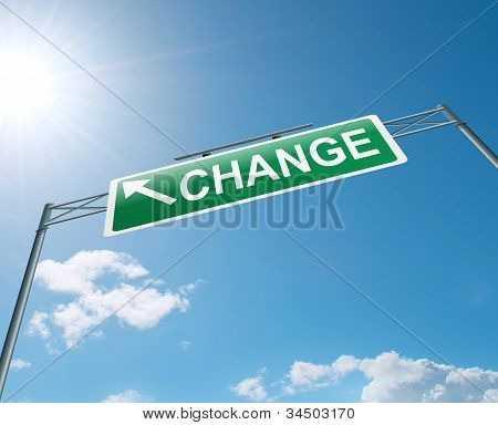 Time For Change.