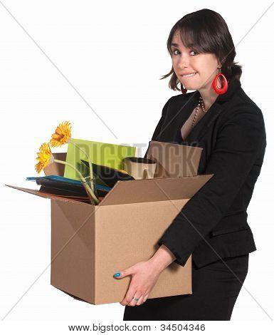 weibliche Mitarbeiter entlassen