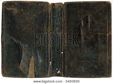 Old Damaged Book Cover