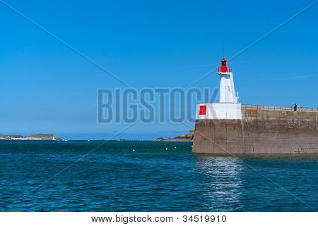 Pier With A Lighthouse