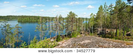 Rocky Forest Lake
